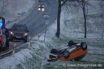 Unfälle zwischen Erlau und Schweikershain am Donnerstagnachmittag - Freie Presse