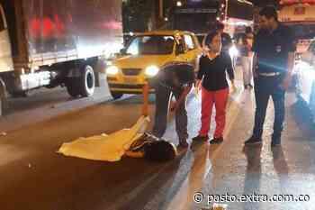 Comerciante murió arrollada por imprudencia de motociclista: siniestro vial en Tangua - Extra Pasto
