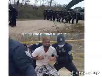 Lucha por un terreno en La Cabima termina en denuncia por supuesto abuso policial - El Siglo Panamá