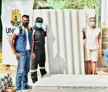 Entregan 900 tejas en Policarpa para enfrentar las futuras lluvias - El Universal - Colombia