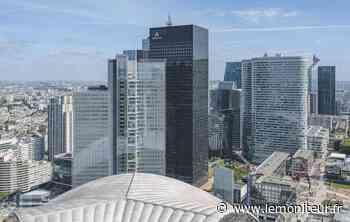 TOUR DE BUREAUX PUTEAUX CRO&CO -A La Défense, dressée près du Cnit, la tour Trinity est - Moniteur