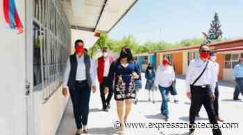Equipan a escuelas del municipio de Ojocaliente - Noticias - Express Zacatecas