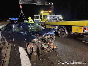 Schwerer Verkehrsunfall auf A81 bei Untergruppenbach - Heilbronner Stimme