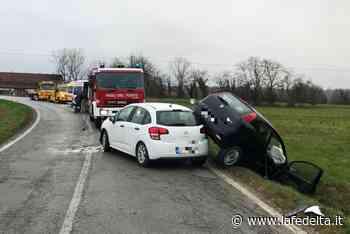 Incidente stradale a Bene Vagienna - La Fedeltà
