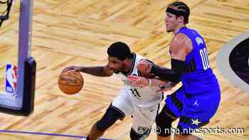 Kyrie Irving's 43 not enough, Magic beat Nets behind 38 from Gordon