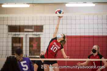 Hudson volleyball splits twin matchups with South Lancaster High - Community Advocate