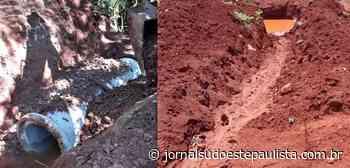Obras deixam estradas rurais mais seguras em Taquarituba - Jornal Sudoeste Paulista