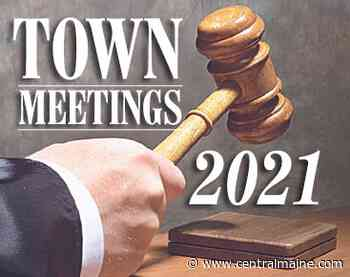 Chesterville elections are Friday, Town Meeting Monday - Kennebec Journal and Morning Sentinel
