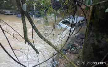 Homem desaparecido é encontrado morto dentro do próprio carro no rio Muzambinho, em Nova Resende, MG - G1