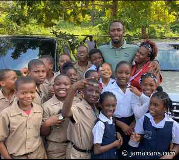Usain Bolt Foundation Makes Donation of Laptop Computers to Rural Schools in Jamaica - Jamaicans.com