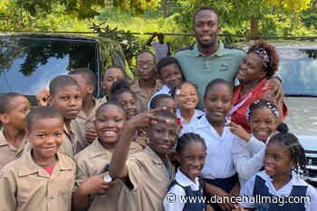 Usain Bolt Foundation Donates 150 Laptops To Schools In Rural Jamaica - DancehallMag