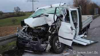 Lebensgefährlich verletzt: Unfall zwischen Öhringen und Bretzfeld - SWR