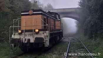 Apprendre à conduire une locomotive ? C'est possible à Pacy-sur-Eure ! - France Bleu