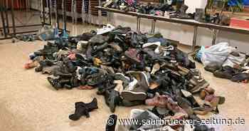 Kolpingfamilie St. Marien Schmelz freut sich über Spende 3400 Schuhe - Saarbrücker Zeitung