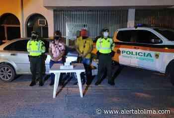 Pareja ocultaba en su vehículo un kilo de clorhidrato de coca en la vía al Guamo - Alerta Tolima