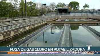 Fuga de gas cloro se registra en la potabilizadora de Chilibre - Telemetro