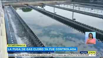 Atienden fuga de gas cloro en planta potabilizadora de Chilibre - TVN Panamá
