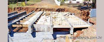 Prefeitura de Ipira paralisa construção de uma ponte por possíveis irregularidades - Rádio Aliança 750khz