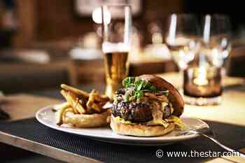 A gourmet burger is the perfect Saturday night treat
