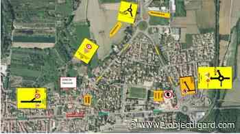 REMOULINS La traversée de la commune perturbée par des travaux pendant un mois - Objectif Gard