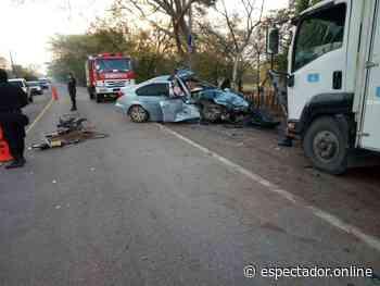Mujer embarazada fallece en accidente de tránsito en Tecoluca - espectador.online