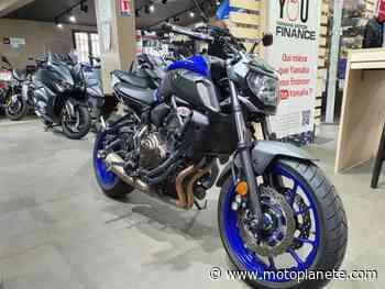 Yamaha MT-07 2020 à 6590€ sur JOINVILLE LE PONT - Occasion - Motoplanete