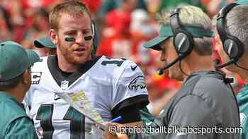 Carson Wentz: I have a lot of respect for Doug Pederson