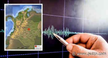 Epicentro del temblor de este jueves fue en Meta, donde han reportado varios sismos hoy - Pulzo.com
