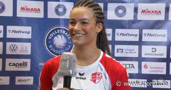 Volleyball: So denkt Potsdam-Joker Agbortabi über den Playoff-Sieg in Vilsbiburg - SPORT1