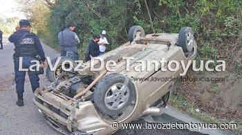 Volcó en la carretera Álamo - Tamazunchale - La Voz De Tantoyuca
