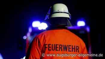 Lastwagenanhänger fängt auf der B2 Feuer - Augsburger Allgemeine