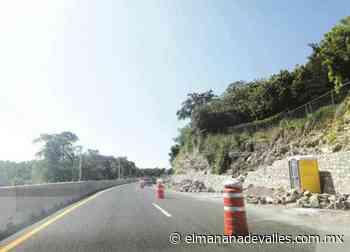 Licitarán otro tramo de la Valles-Tamazunchale - El Manana de Valles
