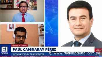 """Paúl Caiguaray: """"Carretera Central y la ruta Nazca ya han sido abiertas"""" - Radio Nacional del Perú"""