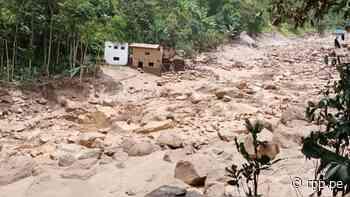 Piura: Huaico destruye viviendas y puentes en la provincia de Huancabamba [VIDEO] - RPP Noticias