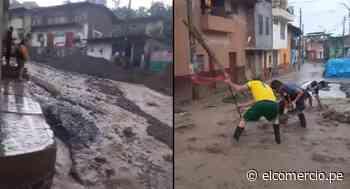 Piura: intensa lluvia causa daños en viviendas y trochas de Huancabamba - El Comercio Perú