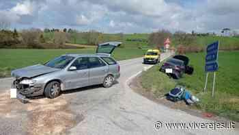 Filottrano: scontro fra due auto all' intersezione della SS 362 con via Fiumicello - Vivere Jesi