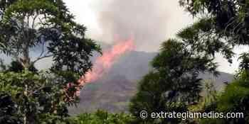 Fuertes Incendios en Nimaima - Extrategia Medios