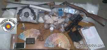 Homem é preso após confessar 'delivery' de drogas em Pindorama - G1