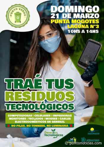 Punta Mogotes: Convocan a una jornada para juntar desechos tecnológicos - Puntonoticias