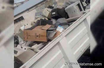Realizarán una jornada para juntar desechos tecnológicos en Mogotes - El Marplatense