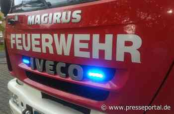 FW Grefrath: Gebäudebrand - Presseportal.de