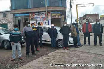 Transportistas de Macusani (Carabaya) continúan acatando paro - Pachamama radio 850 AM