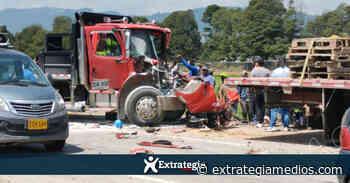 Grave accidente vial se presentó en la variante Zipaquirá - Ubaté - Extrategia Medios