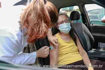 Em Igarassu, idosos entre 70 e 74 anos serão vacinados contra a Covid-19 nesta segunda - Diário de Pernambuco