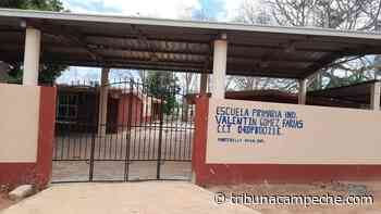 Escuela de Montebello no es apta para clases - Tribuna Campeche