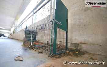 Aulnoye-Aymeries : pourquoi y a-t-il des cages dans le parking silo - L'Observateur
