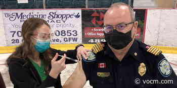 Grand Falls-Windsor Fire Chief Encouraging Vaccination as First Responders Receive Doses - VOCM