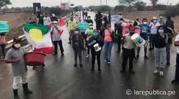 Lambayeque: sigue incertidumbre por agua potable en Pacora - LaRepública.pe