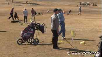 Souris Valley Golf course tee's off early for 2021 season amid mild winter - KFYR-TV