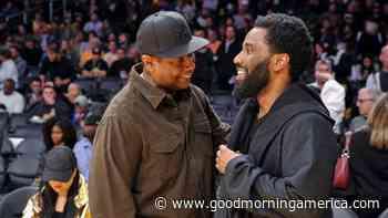 John David Washington says he still isn't out of dad Denzel Washington's 'shadow' - GMA